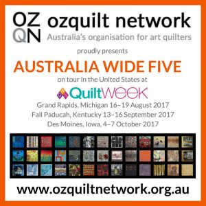 Australia Wide Five at AQS QuiltWeek