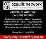 Australia Wide Five: Call for Entries