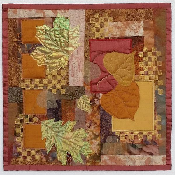 Leaf Study by Judith Trager