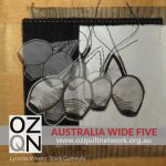 Australia Wide Five - Stark Gumnuts by Lyn Weeks