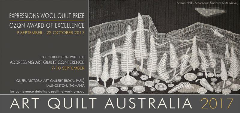 Art Quilt Australia 2017: Addressing Art Quilts Conference