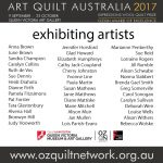 Art Quilt Australia 2017 Exhibiting Artists