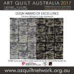 Art Quilt Australia 2017: Prize Winners