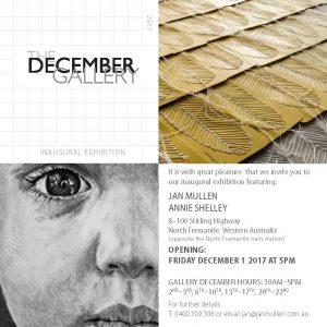 December Gallery by Jan Mullen