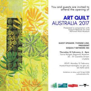 Art Quilt Australia at Yarra Ranges Regional Museum