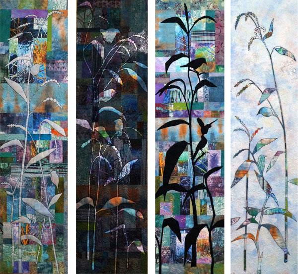 Reed Warblers, Barmah Lake by Linden Lancaster