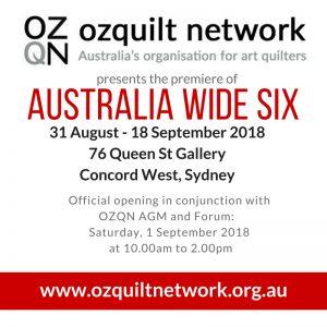 Australia Wide Six Exhibition Premiere