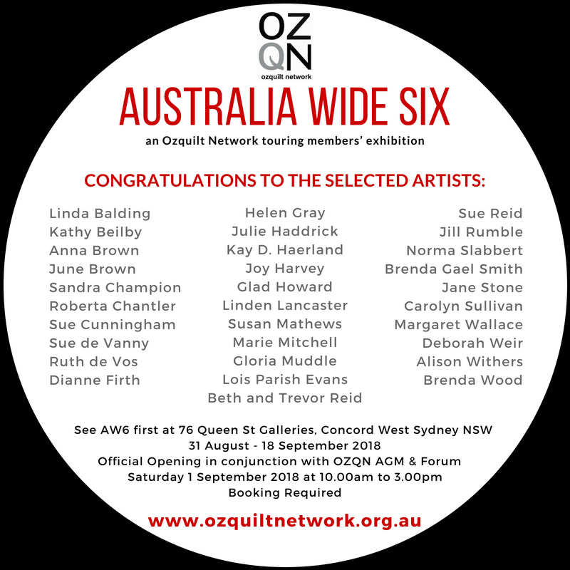 Australia Wide Six Artists
