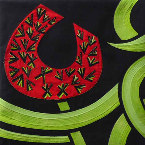 Red Flower by Joy Harvey in Australia Wide Six