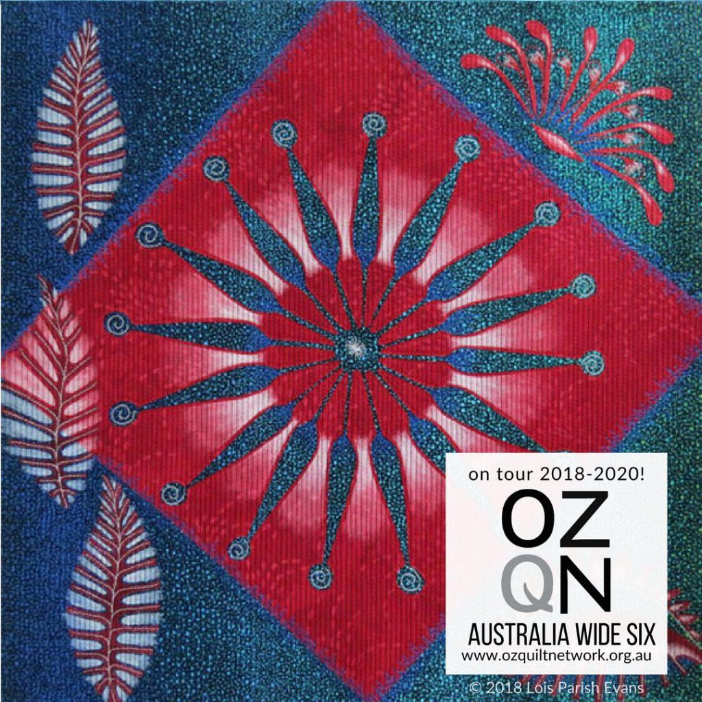 Firewheel Spectacular by Lois Parish Evans in Australia Wide Six