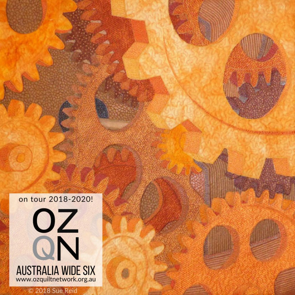 And The Wheels Go Round #2 By Sue Reid in Australia Wide Six