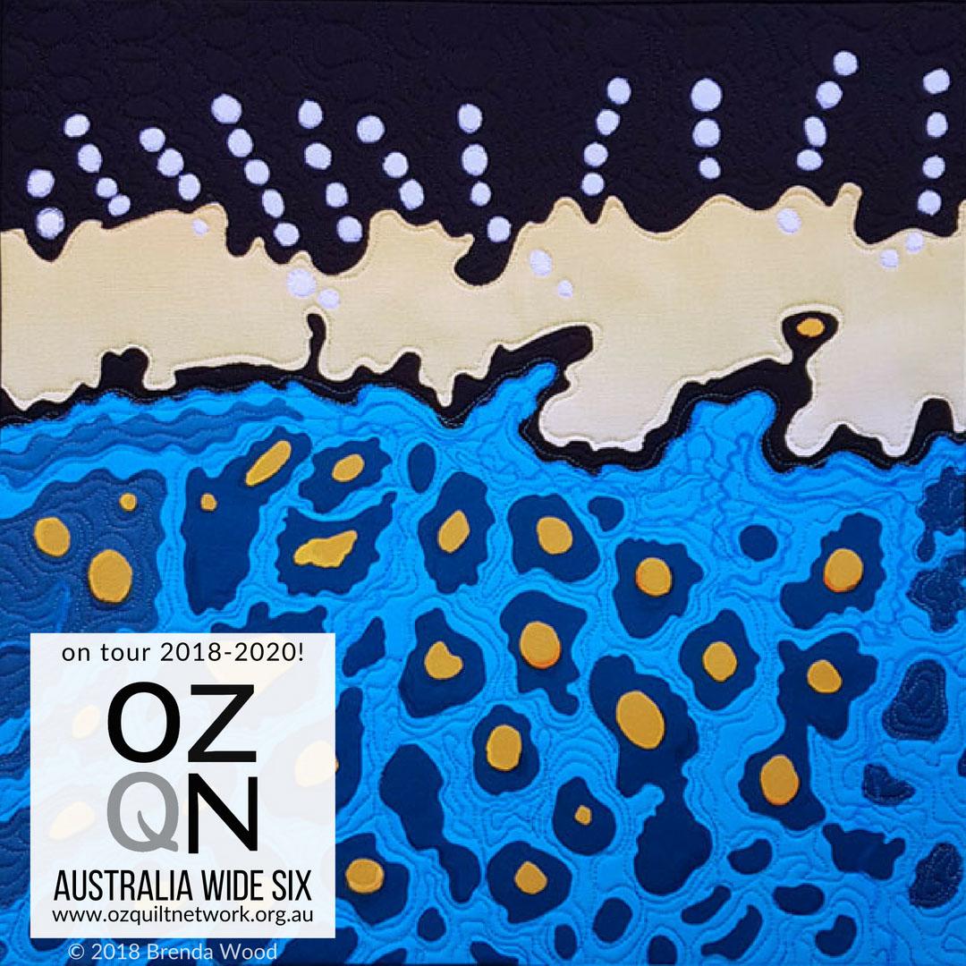 Spotted Boxfish by Brenda Wood in Australia Wide Six