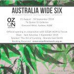 Invitation: Australia Wide Six Opening & OZQN Forum