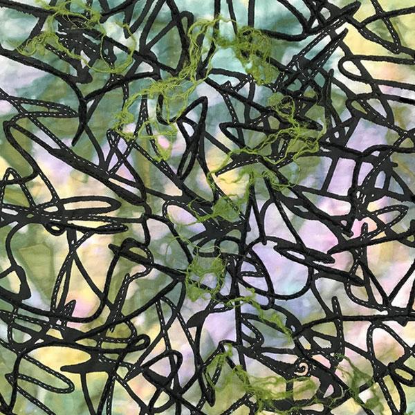Pond Algae by Deborah Weir