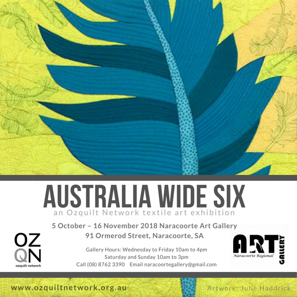 Australia Wide Six at Naracoorte Regional Gallery