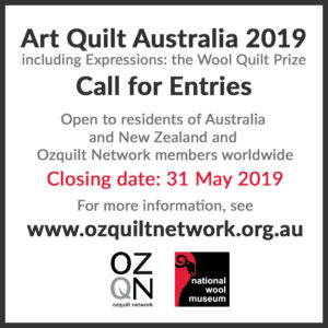 Call for Entries - Art Quilt Australia 2019