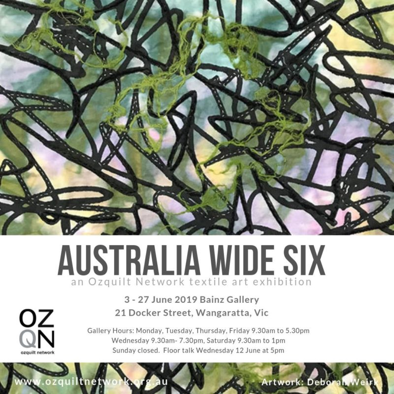 Australia Wide Six at Bainz Gallery Wangaratta