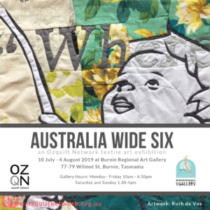 Australia Wide Six at Burnie Regional Art Gallery