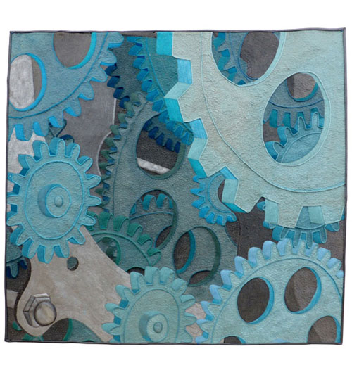 And the Wheels Go Round #4 by Sue Reid