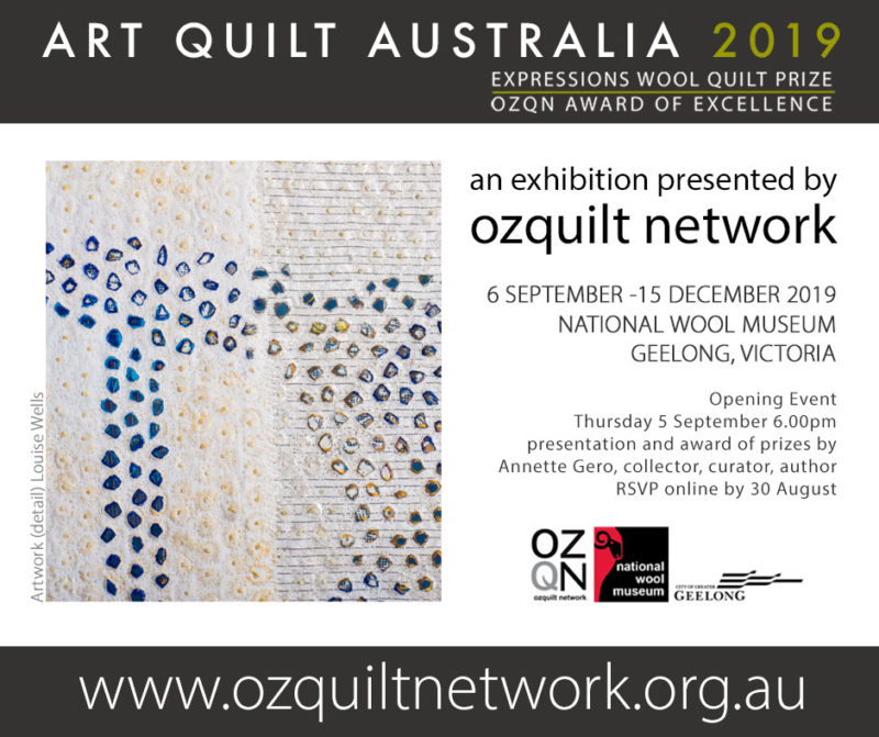 Art Quit Australia 2019 Artwork by Louise Wells