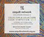 Book now for OZQN Symposium Collectors & Collections