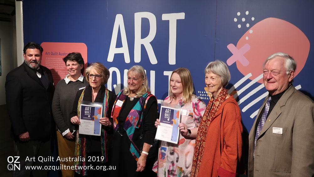 Art Quilt Australia 2019 Prize Winners