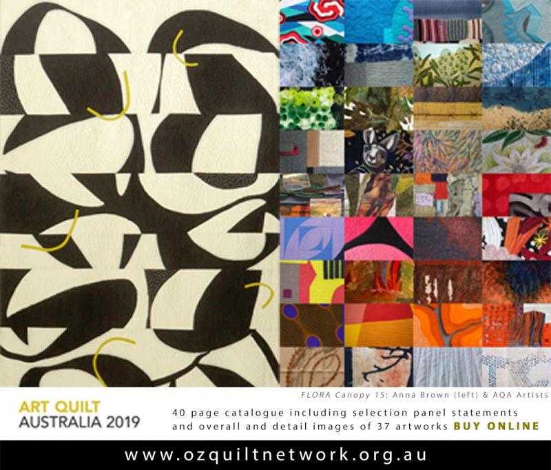 Art Quilt Australia 2019 catalogue