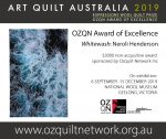 Whitewash by Neroli Henderson OZQN Award of Excellence 2019