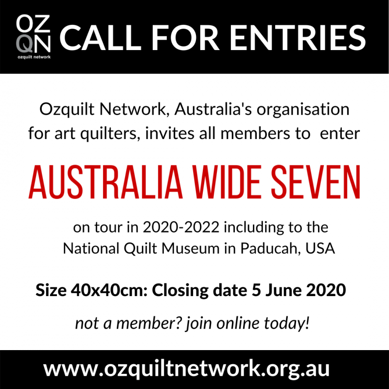 Call for Entries Australia Wide Seven