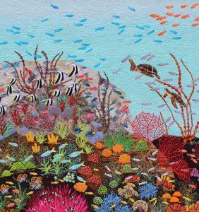 Magic Coral Reef by Linda Steele