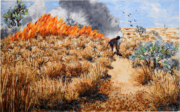 Linden Lancaster Run the Fire