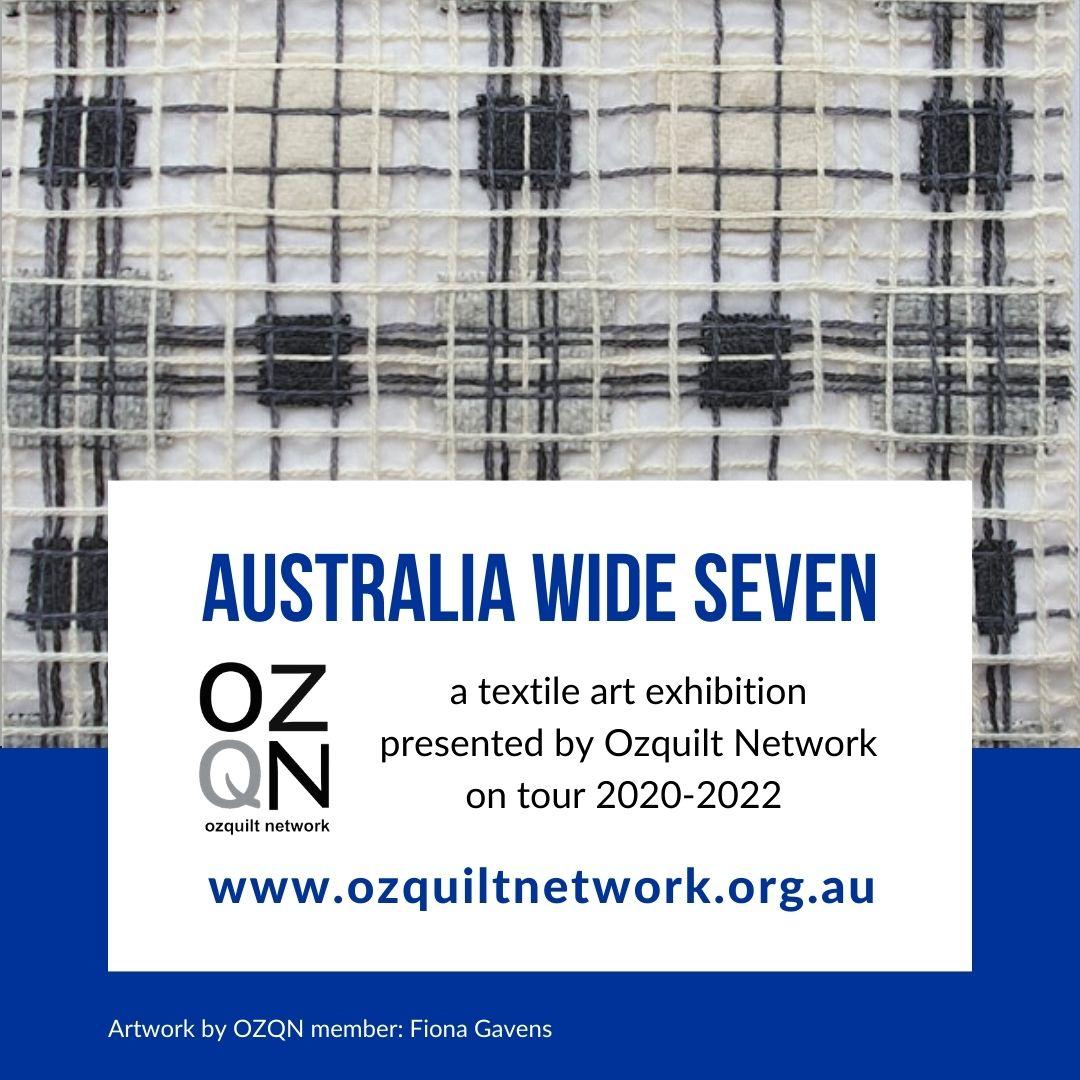 Fiona Gavens - Ghost Blanket V: Australia Wide Seven