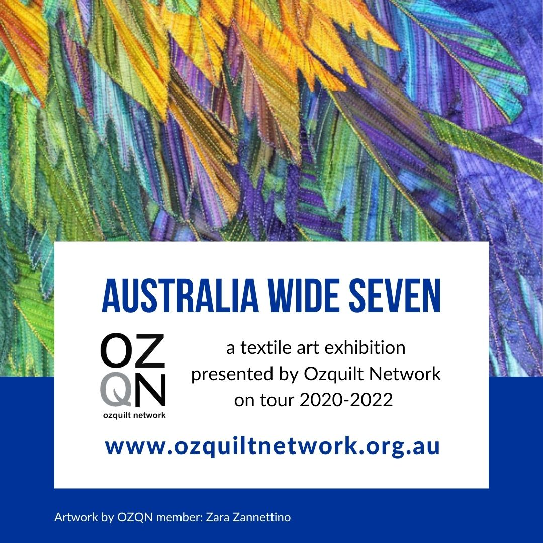 Intriguing Irridescence by Zara Zannettino: Australia Wide Seven