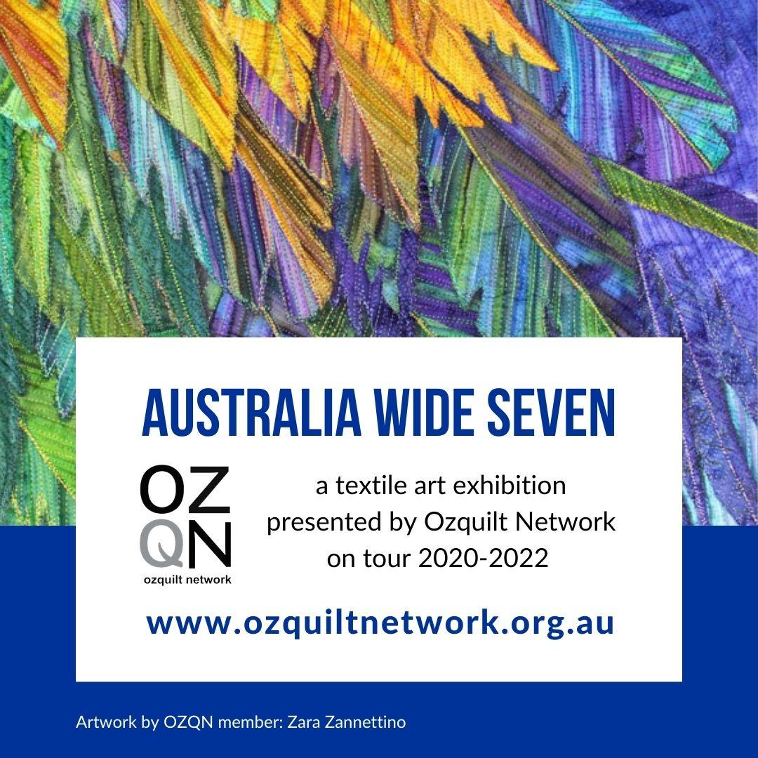 Intriguing Irridescence by Zara Zannettino: Australia Wide Seven
