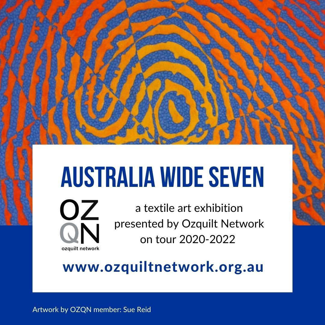 Sue Reid - Vasarely Print: Australia Wide Seven