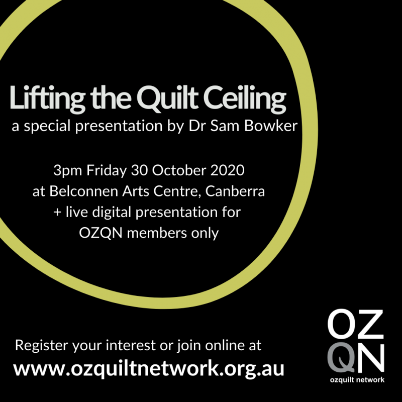 Lifting the Quilt Ceiling Presentation