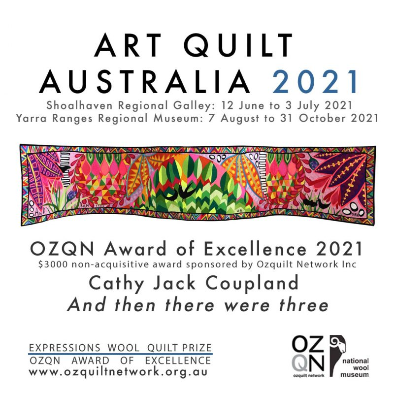 Cathy Jack Coupland OZQN Award of Excellence