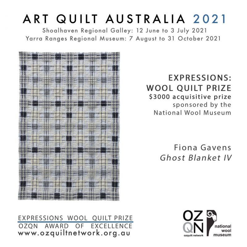 Ghost Blanket IV Fiona Gavens