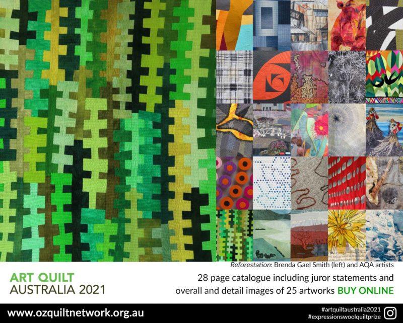 Art Quilt Australia 2021 Catalogue