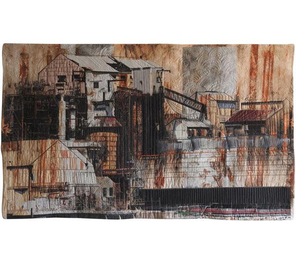 Rusting Riverside by Christine Beardsley