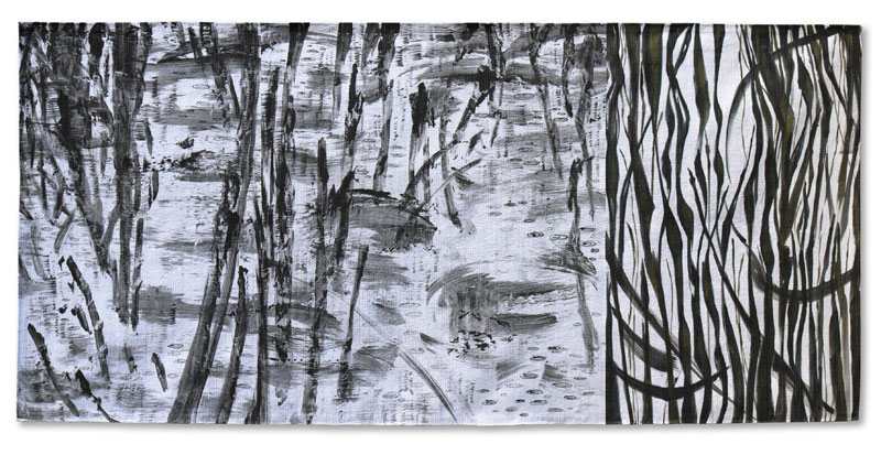 Creek Drawing #17 Judy Hooworth