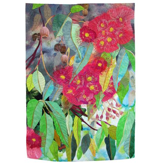 Flowering Gum by Lorraine Rogers